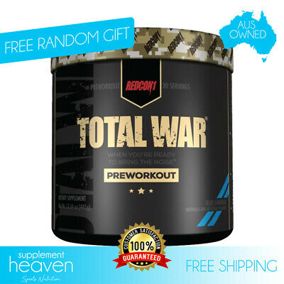 Redcon1 Total War V2 Pre Workout Redcon 30 Serves Energy Focus Pump