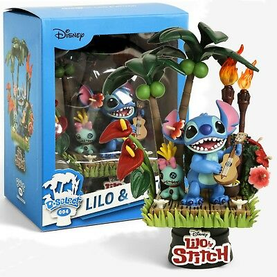 LILO & STITCH D-Select Series DS-004 6-Inch PX Diorama Statue Previews Exclusive