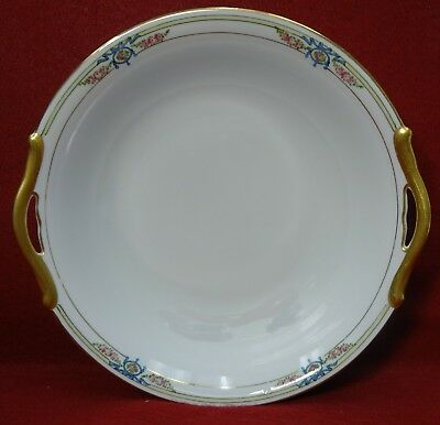 NORITAKE china BRIARHURST 65571 pattern Round Vegetable Serving Bowl - 9-5/8""