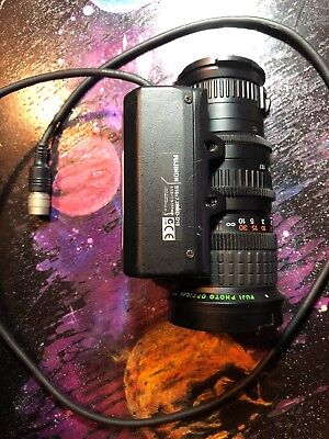 Fuji Fujinon Aspheric 16x TV Zoom Lens, 1:1.4/6.7-117mm with AT S16X7.3BMD-D18