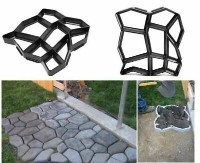 Garden Path Maker Molds Pavement Concrete Mould DIY Paving Cement Brick Stone Ro