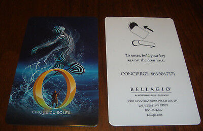 Cirque Du Soleil O Bellagio Las Vegas Casino Hotel Room Key Card NEW 2018 Issue