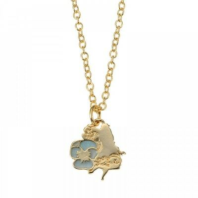 New Disney Store Japan Necklace with bottle case Alice Flower From Japan