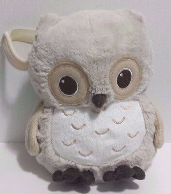 Cloud B Sunshine Plush Owl with 4 Soothing Sounds Nursery Crib Baby Toy