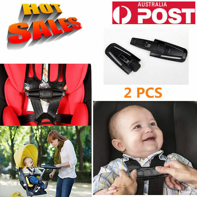 Safety Baby Car Seat Safety Strap Silde Chest Strap Harness Clip Au Post
