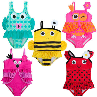 Infant Baby Girls Novelty Swimsuit One Piece Bathing Suit Swimming Costume
