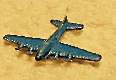 Vintage Cracker Jack Metal Airplane Prize 1/2""