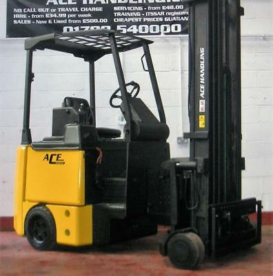GET A FULL SERVICE for your Bendi BE40 Electric Forklift for only 99.99!