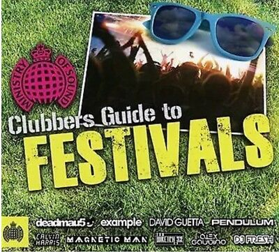 MINISTRY OF SOUND Clubbers Guide To Festivals, 3 CD Various Artists NEW SEALED