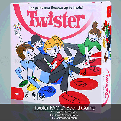 NEW Twister Board Game Kids Adult Educational Toy Family Party Funny Game Gift