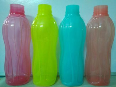 Tupperware Fliptop Plastic Bottle Set 1 Litre 1 Pc Genuine color may vary