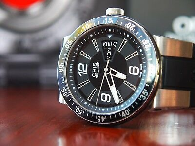 Oris F1 WILLIAMS 635-7613-4164RS Day-Date Men's Automatic Watch * RRP £1295.00 *
