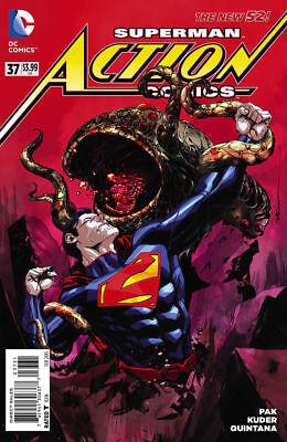 ACTION COMICS #37 Variant 1:25 Dustin Nguyen DC 1st Print COVER C Not #1000