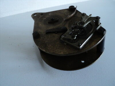 Vintage Brass Clock Movement With A Platform For Parts Or Repair