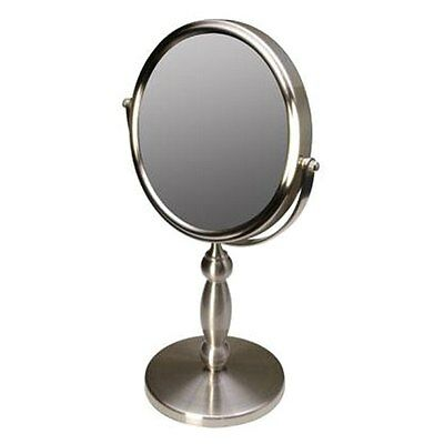 Floxite FL15V 2-Sided 15X Magnification Strong Supervision Vanity Mirror FL-15V