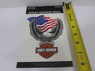 NOS 2004 Official Harley Davidson Decal Motorcycle Bike Window sticker D328944