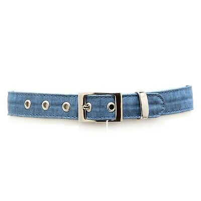 4807V cintura bimba SIMONETTA MINI denim belt girl kid
