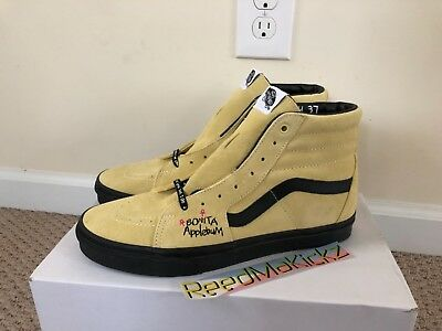 852615b4461 VANS SK8-HI ATCQ A Tribe Called Quest Yellow Black Mens sizes VN0A38GER31