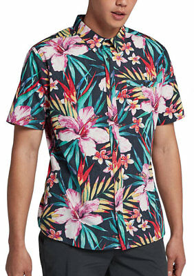 af1ad6c46 Shirt Hurley Nike 903695 Short Sleeves Man Surf Printed Hawaii Classic Fit  Flow