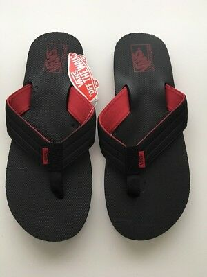 5e8c48f356503 New VANS Flip Flop Sport Thong Slides Beach Summer Casual Men s Sandals  Size 12