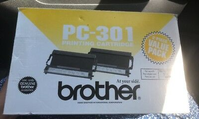 Brother PC-301 Printing Cartridge 2 pack   New (C)