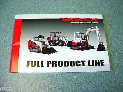 Takeuchi Full Line Brochure