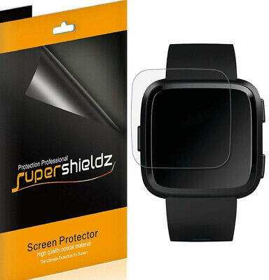 6X Supershieldz Clear Screen Protector for Fitbit Versa & Versa Lite Edition