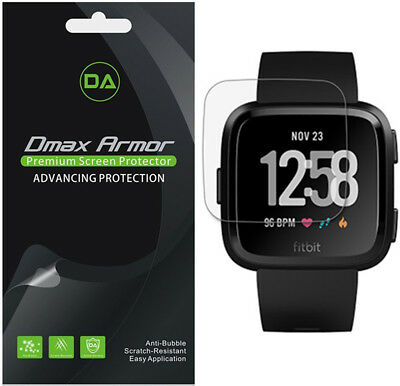 6X Dmax Armor Anti-Glare Matte Screen Protector for Fitbit Versa / Lite Edition