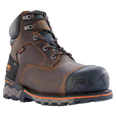 Timberland Pro Men's Boondock 6 Inch Composite Toe Work Boots, Brown