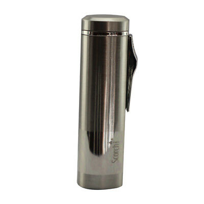 Scorch Torch Triple Jet Flame Butane Cigarette Cigar Torch Lighter – Chrome