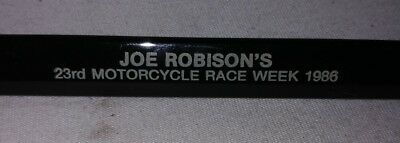 RARE ROBISON'S Harley Davidson Bike Week 1986 pen obsolete non working