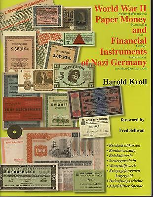 World War II Paper Money + Financial Instruments of NAZI Germany NEW Book