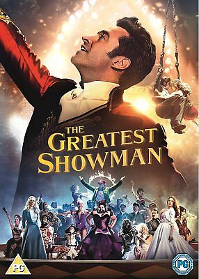 The Greatest Showman New & Sealed DVD Includes Singalong Edition 5039036082860