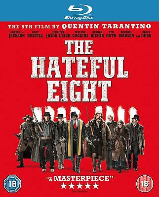 The Hateful Eight - Blu-ray Samuel L Jackson Brand New Sealed 5017239152641