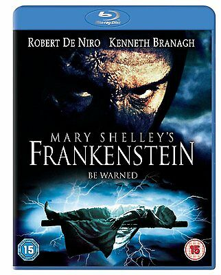 Mary Shelley's Frankenstein - Robert de Niro - New Blu-ray - 5050629197679