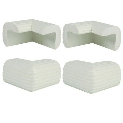 4 Pack Child Safety Cushion Protector White I6Z7