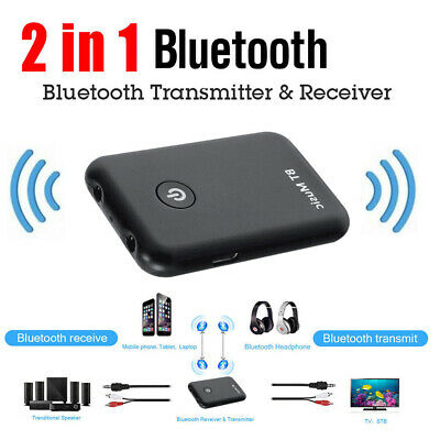 2 in 1 Wireless Bluetooth Transmitter & Receiver Stereo Audio Adapter for TV