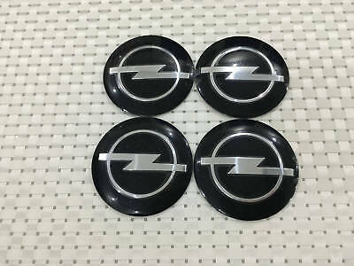 "4PCS OPEL 56MM 2.2"" Auto Wheel Center Hub Caps Emblem Sticker"