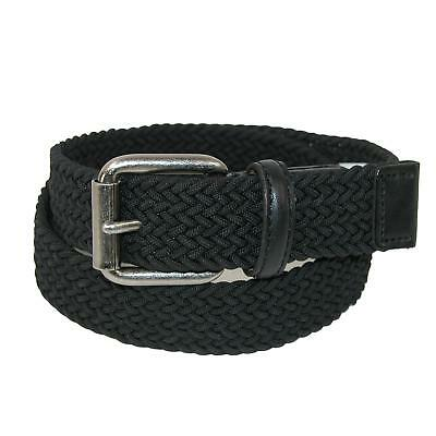 New Levis Boy's Elastic Braided Stretch Belt