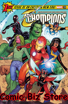 Champions #19 (2018) 1St Printng Bagged & Boarded Marvel Legacy Tie-In