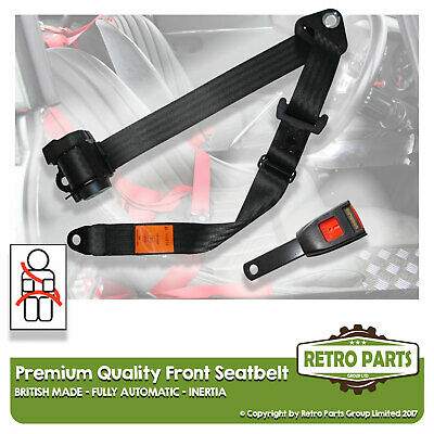 Front Automatic Seat Belt For Suzuki Baleno Saloon From 1996 Black
