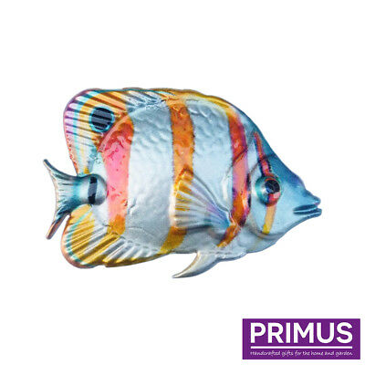 Primus Metal Butterfly Fish Tropical Fish Wall Art Hand Finished PA2045  sc 1 st  PicClick UK & Primus Metal Butterfly Fish Tropical Fish Wall Art Hand Finished PA2045