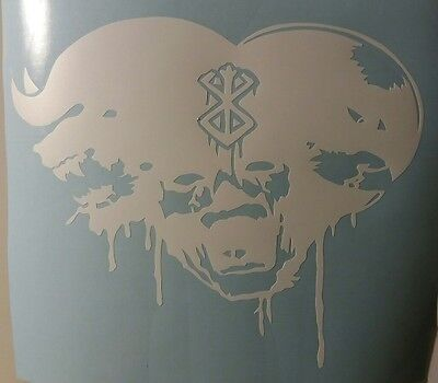 Berserk the anime decal (zod, guts and griffith)