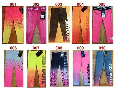 New Nike DRI-FIT Girls Long Pants 2T, 3T, 4, 4T, 6, 6X MSRP $30.00