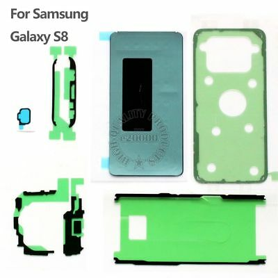 Adhesive Tape LCD Screen + Back Cover + Battery Sticker For Samsung Galaxy S8