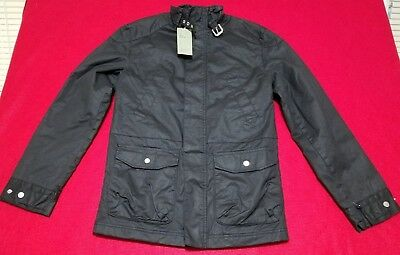 Waxed Jacket by Goodfellow Size Small Black