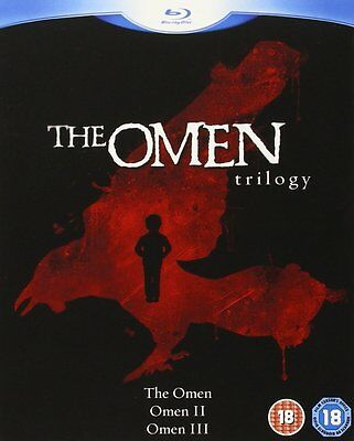 The Omen Trilogy (Blu-ray, 2008) Omen 1, 2 - Damien, 3 - The Final Conflict New