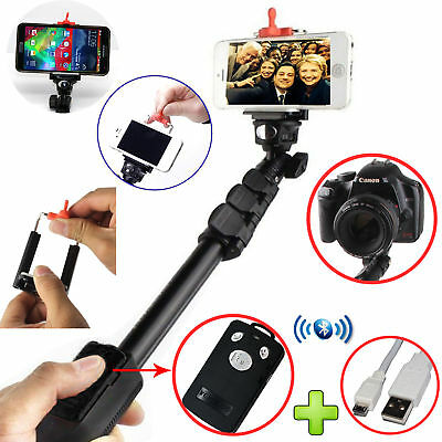Selfie Stick Strong Monopod + Bluetooth Remote for All Huawei Phone Models