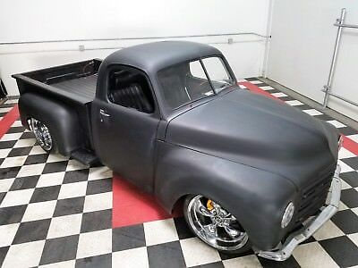"""1950 Studebaker 2R10 Hot Rod Cool 50 Resto-Mod 2R """"The Rude Stude"""" V8 AT Fat Fenders Slapped Stance VIDEO"""
