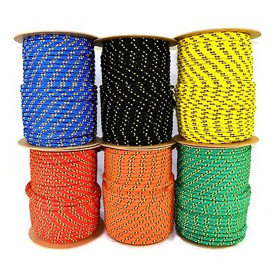 Strong Braided Polypropylene Plaited Poly Rope Cord Yacht Boat Sailing Camping